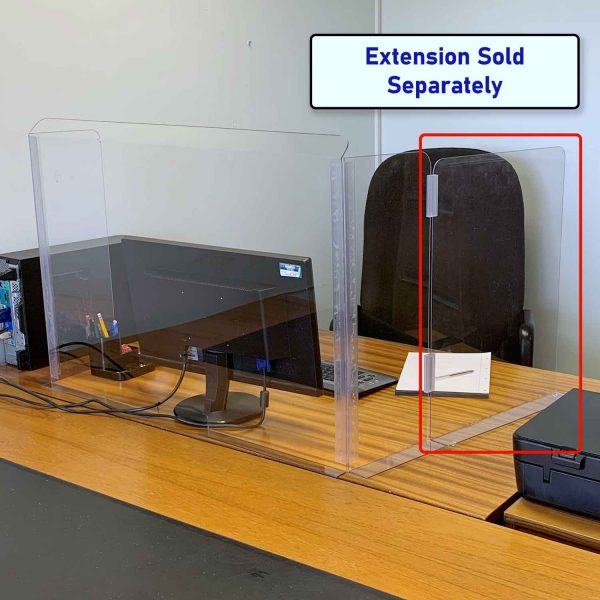 Desk Shield Extension Arm