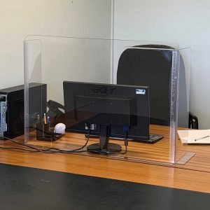 Clear Sneeze Guard Desk Shield - Guard - Screen