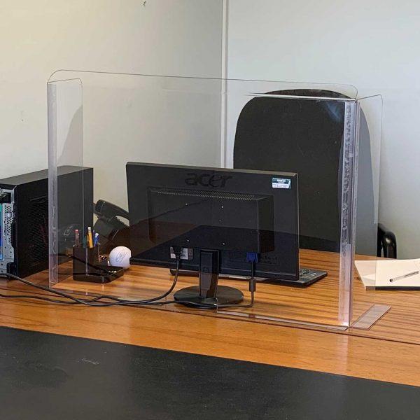 Clear Sneeze Guard Desk Shield - Guard - Screen